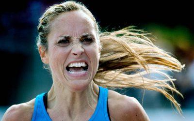 Beinta fra 3:28 til 3:08 på marathon